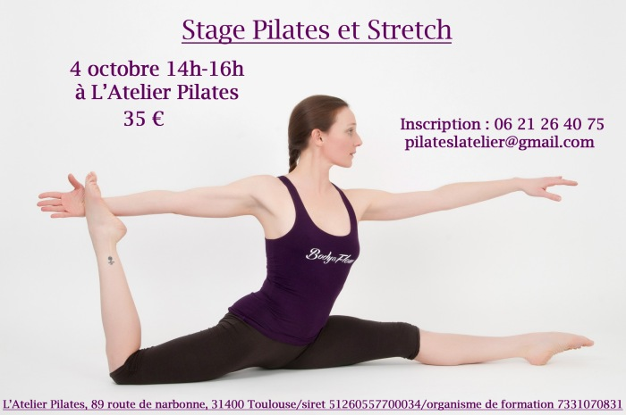 flyer pilates:stretch