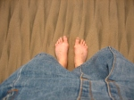 pieds Bali
